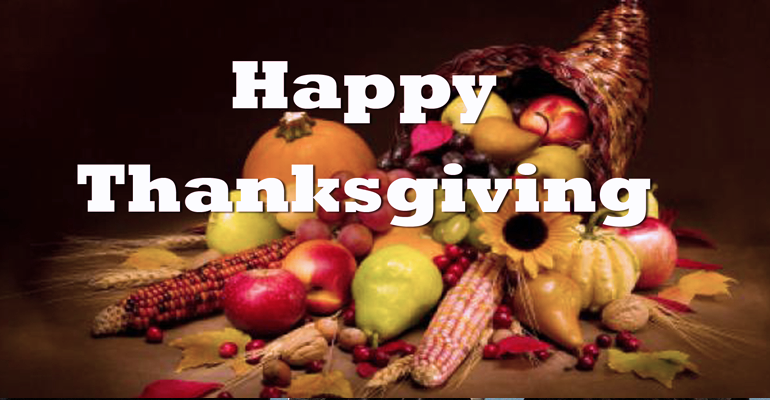 Video Friday: Happy Thanksgiving
